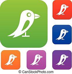 Social network bird set collection