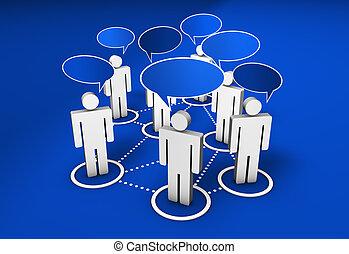 Social Network Community - Social network, forum, Internet...