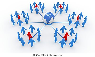 Social Network Concept  - Social Network Concept