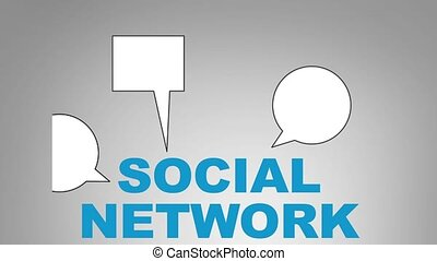 Social network - Growing social network