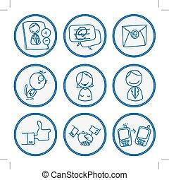 Social network sign