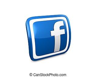 Social network - 3d rendering, Design element, Social...
