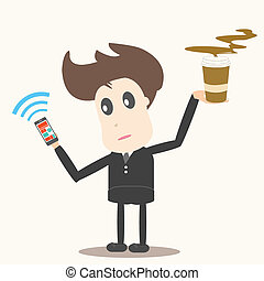 social network,businessman
