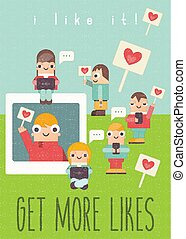Social Networking Poster