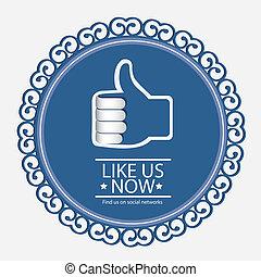 social networks - Illustration icon social networks,...