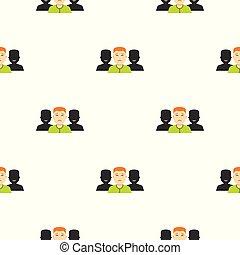 Social pattern seamless