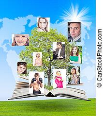 social, pessoas, rede, conecta, worldwide.