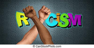 social, racisme, question