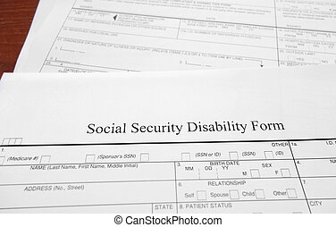 Social Security Disability. Social Security Disability Form