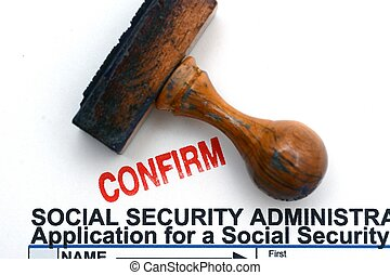 Social security form