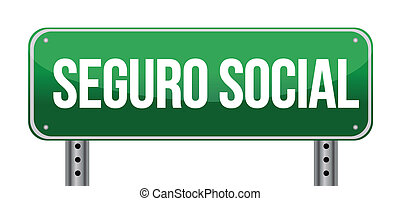 social security sign in Spanish