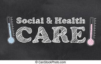 social, services médicaux
