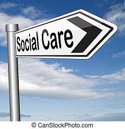 social, soin