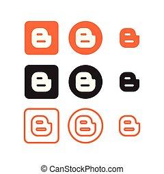 sociale, blogger, medier, iconerne
