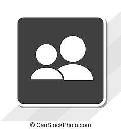 sociale, illustration, medier, vektor, konstruktion