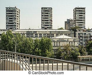socialista, era, arquitectura