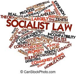 socialiste, droit & loi
