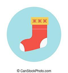 sock flat icon