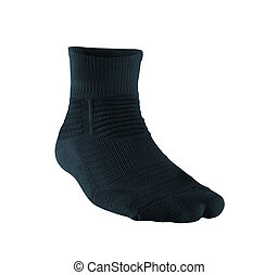 Sock isolated on white background