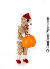 Sock Monkey Halloween Costume