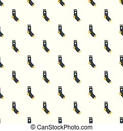 Sock pattern seamless vector