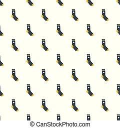 Sock pattern seamless vector