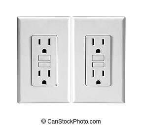 Socket On a white background.