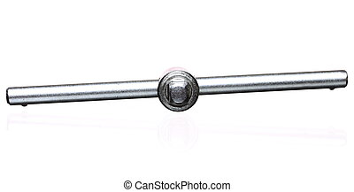 Socket spanner. Isolated on a white background