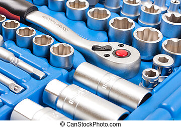 Socket wrench toolbox