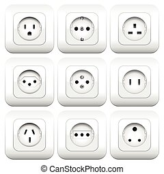 Sockets Varieties Different Types - Sockets - different...