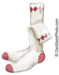 Socks - Close up a pair of socks
