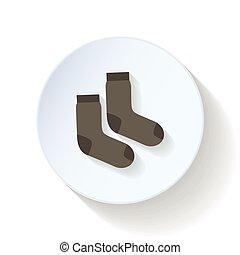 Socks flat icon