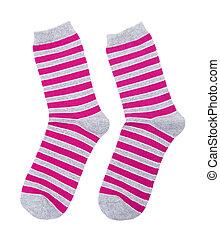 Socks isolated