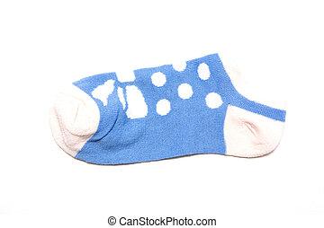 socks isolated on white