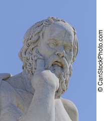 Socrates the philosopher, Athens Greece