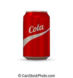 Soda aluminium can