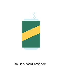 soda can beverage isolated icon