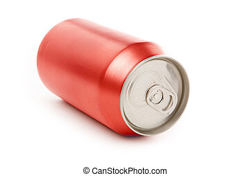 soda can - blank soda can with white background