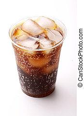 Soda Cola - A typical soft drink or soda