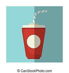 Soda drink cup
