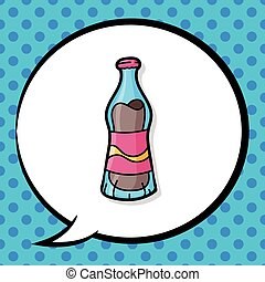 soda drink doodle