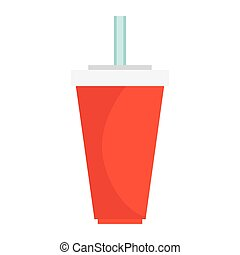 soda drink isolated icon
