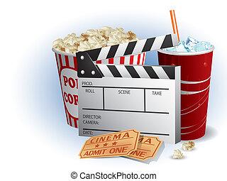 soda, filmstrip, bilety