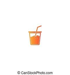 Soda logo template