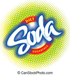 soda packaging design (vector)