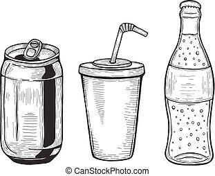soda packaging set