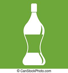 Soda water icon green