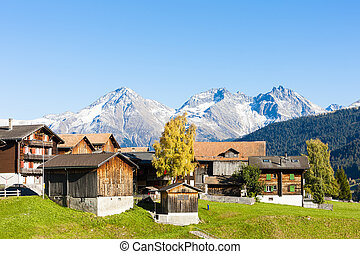 sodrun, suisse, graubunden, canton