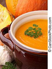soep pot, het koken