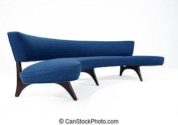 sofá, modernos, desenho